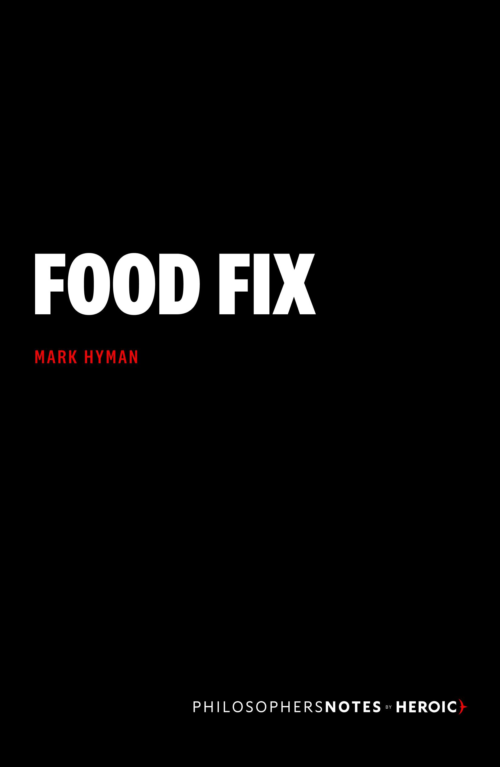 Food Fix Cover